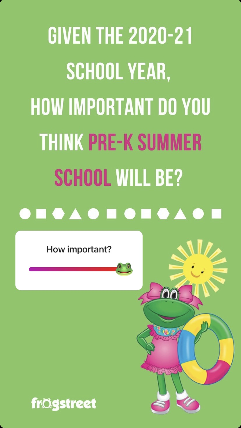 20210518-Frog Street- Summer School IG poll reults